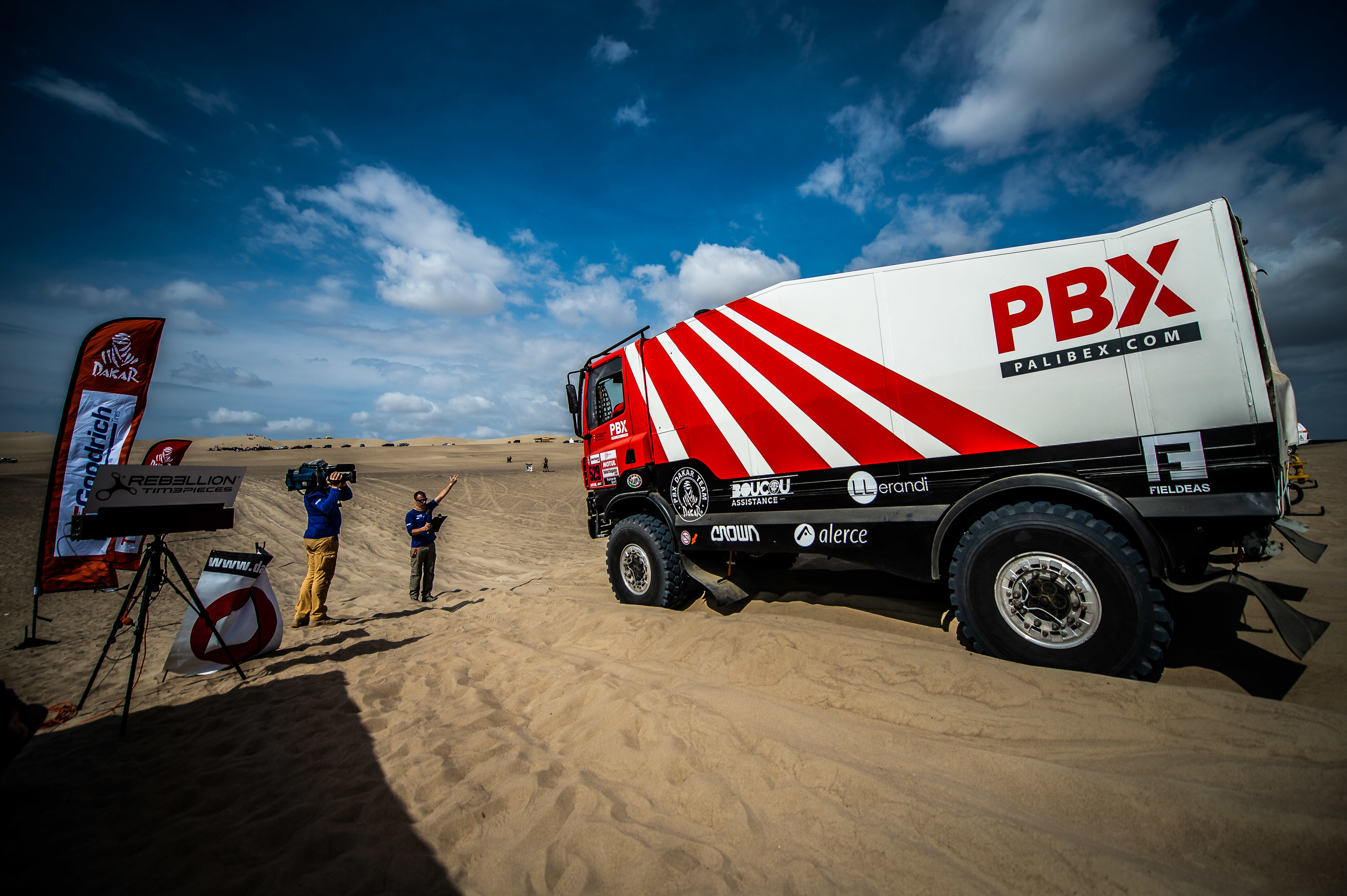 Alerce en el Dakar 2019